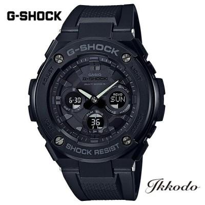 あすつく G-SHOCK Gショック カシオ G-STEEL ソーラー電波 樹脂/樹脂バンド 49.3mm国内正規品 腕時計 GST-W300G-1A1JF 【GSTW300G1A1JF】