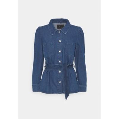 オンリー レディース ジャケット&ブルゾン アウター ONLMELROSE JACKET YORK - Denim jacket - medium blue denim medium blue denim