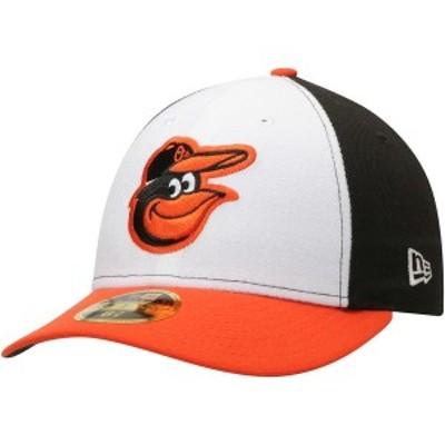 ニューエラ メンズ 帽子 アクセサリー Baltimore Orioles New Era Home Authentic Collection On-Field Low Profile 59FIFTY Fitted Hat