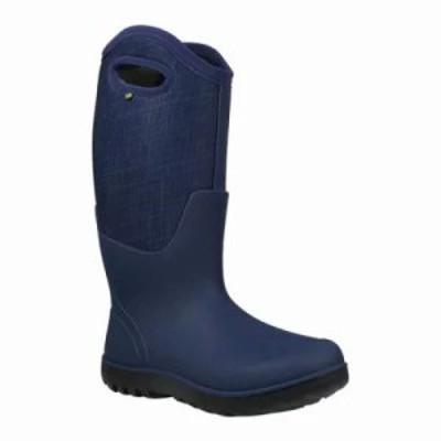ボグス ブーツ Neo-Classic Linen Tall Boot Dark Blue Linen Multi