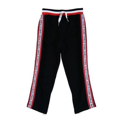 GAëLLE Paris パンツ ブラック 4 コットン 100% パンツ