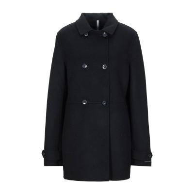 アティピコ AT.P.CO コート ブラック XL ウール 50% / ナイロン 50% コート