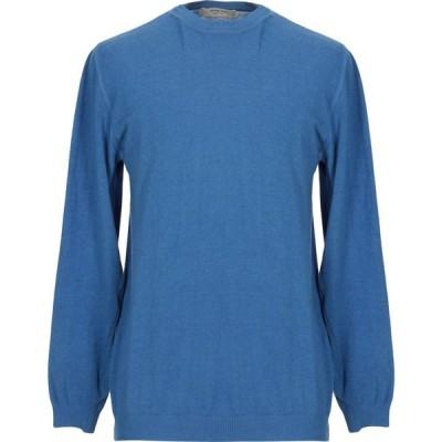 ウールアンドコー WOOL & CO メンズ ニット・セーター トップス sweater Azure