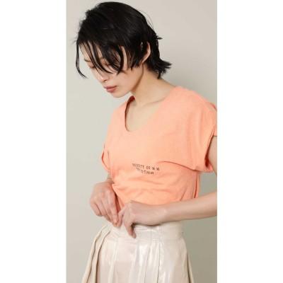 [7月号GISELe掲載]ロゴTシャツ オレンジ