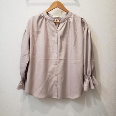 Petit Fleur プチフルール 七分袖 シャツ、ブラウス Shirt, Blouse  10000951