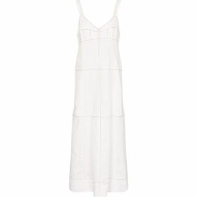 リーマシューズ Lee Mathews レディース ワンピース マキシ丈 ワンピース・ドレス sidney linen maxi dress Natural