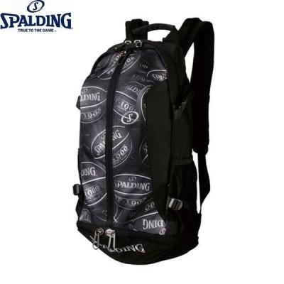 SPALDING/スポルディング 40-007BP CAGER(ケイジャー) ボールプリント バスケ バックパック リック ボール収納