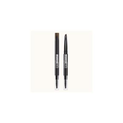 日本ロレアル メイベリン ニューヨーク ファッションブロウ パウダーインペンシル N BR-8:自然な濃茶色 0.2g
