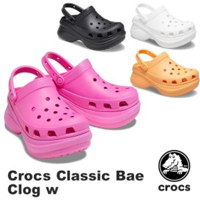 【送料無料】クロックス(CROCS) クロックス クラシック ベイ クロッグ ウィメン (crocs classic bae clog w)サンダル【女性用】[BB]