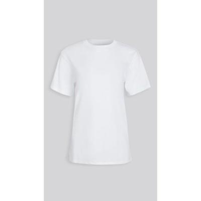 x カーラ x karla レディース Tシャツ トップス The Classic Tee White