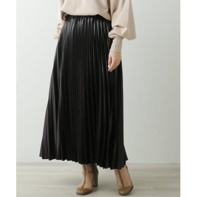 【レイカズン/Ray Cassin】 変形プリーツスカート