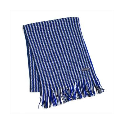 (TOKYO SHIRTS/トーキョーシャツ)マフラー ビジネス メンズ ウィメンズ ブルー系 ストライプ柄/メンズ ブルー