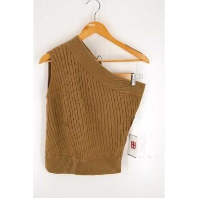 ウーア Uhr One-shoulder Cable Knit ニット・セーター レディース FREE 中古 210302