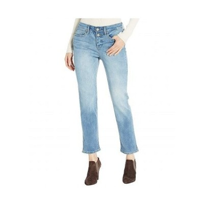 NYDJ エヌワイディージェー レディース 女性用 ファッション ジーンズ デニム Sheri Ankle Jeans with Mock Fly in Biscayne - Biscayne
