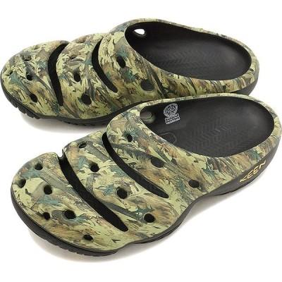 キーン ヨギ アーツ KEEN Yogui Arts MNS Camo Green クロックサンダル 靴 メンズ 1002034ar