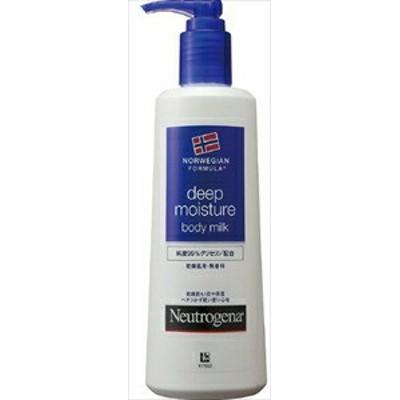 Neutrogena[ニュートロジーナ] ノルウェーフォーミュラ ディープモイスチャー ボディミルク 乾燥肌用 無香料 250ml