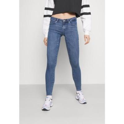 レディース ジーンズ ONLCORAL LIFE POWER BOX - Jeans Skinny Fit - medium blue denim