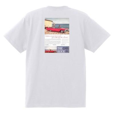 アドバタイジング ビュイック 252 白 Tシャツ 1959 エレクトラルセーブル インビクタ スカイラーク ローライダー