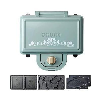 ブルーノ BRUNO ホットサンドメーカー ムーミン 耳まで焼ける 電気 おさかなプレート たい焼き セット ダブル