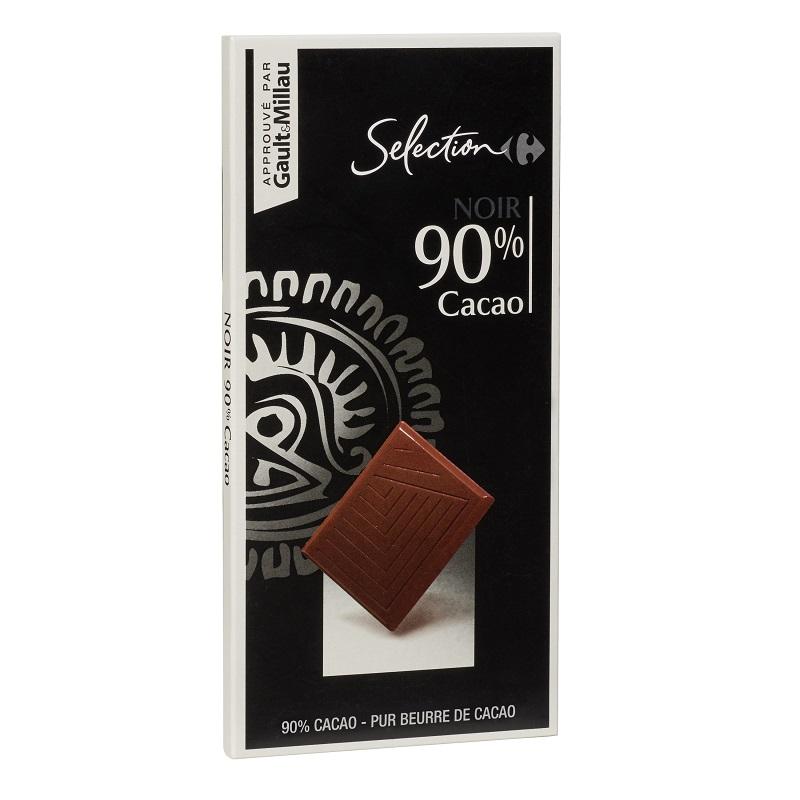 家福精選特黑巧克力90