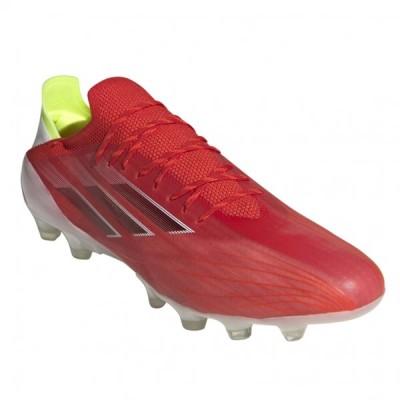 アディダス エックス スピードフロー.1 ジャパンHG/AG FY6877 メンズ サッカー スパイクシューズ E : レッド×ブラック adidas