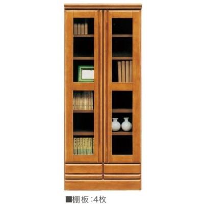 本棚 書棚 ミドルタイプ 国産 60cm幅 ジェロ 開梱設置