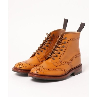 ブーツ 【 TRICKER'S  / トリッカーズ】M5634 STOW / ACORN ANTIQUE (DAINITE SOLE) ストウ / ダ