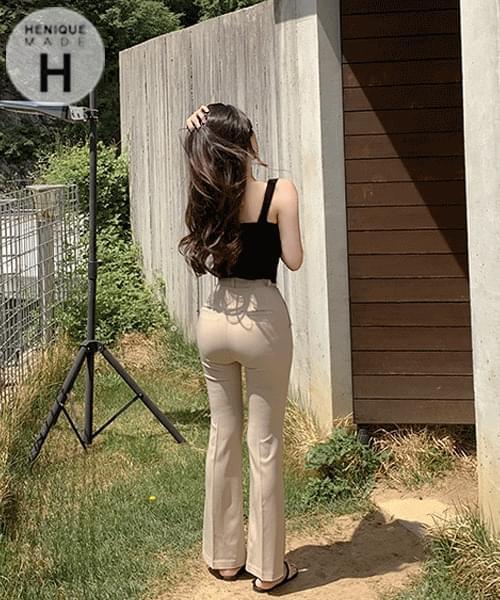 韓國空運 - 155cm This is the fit we love summer short Flared long slacks 長褲