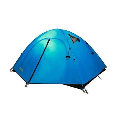 MYERZI Hiking Outdoor Double Double and Three Seasons Windproof and Rainproof Aluminum Pole Tent Camping Tents