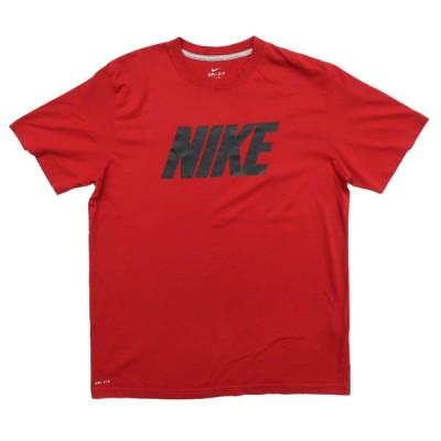 ナイキ ロゴプリントTシャツ ドライフィット サイズ表記:L