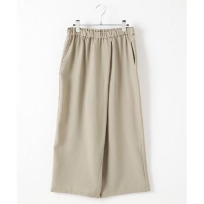 MARcourt/マーコート wrap like pants beige 2
