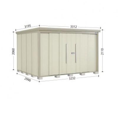 物置 屋外 おしゃれ タクボ物置 ND/ストックマン 側面棚 ND-S3229Y 多雪型 標準屋根 『追加金額