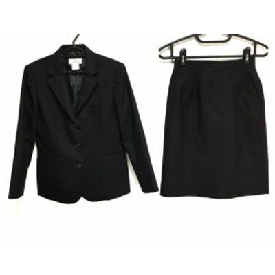 クレージュ COURREGES スカートスーツ サイズ9 M レディース 美品 黒【中古】20200716