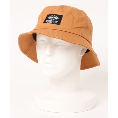 THRASHER by RIFFLEPAGE / GONZ ALLOVER PRINT BACKET HAT/スラッシャーバケハ(バケットハット) MEN 帽子 > ハット