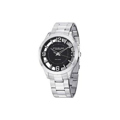 海外セレクション 腕時計 Stuhrling Original 754 02 メンズ Winchester Court スイス クォーツ SS ブレスレット 腕時計