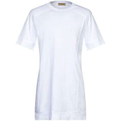 ÊTRE ABSOLU Paris T シャツ ホワイト S コットン 97% / ポリウレタン 3% T シャツ