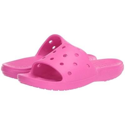 クロックス Classic Slide メンズ サンダル Electric Pink