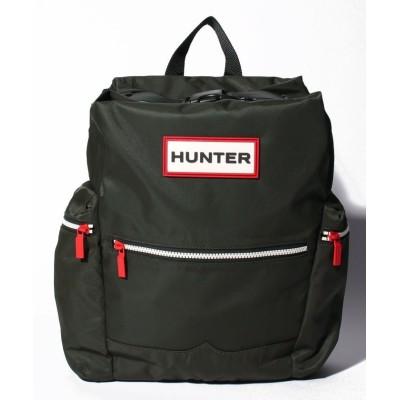 【ハンター】 トップクリップ バックパック バックパック ユニセックス ダークオリーブ フリー HUNTER