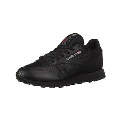Reebok Men's Classic Leather Walking and Running Shoes Casual Sneakers, Bla