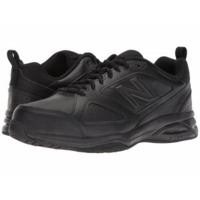 New Balance ニューバランス メンズ 男性用 シューズ 靴 スニーカー 運動靴 623v3 Black【送料無料】