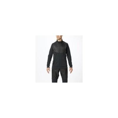 MIZUNO ミズノ ストレッチフリースライトジャケット メンズ ブラック スポーツウエア 32MC9510 09