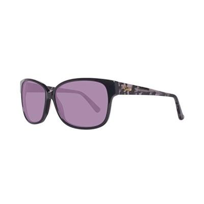GUESS Women's GU7331-60C33 Sunglasses, Black, 60 並行輸入品
