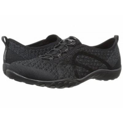 SKECHERS スケッチャーズ レディース 女性用 シューズ 靴 スニーカー 運動靴 Breathe-Easy Fortuneknit Black【送料無料】