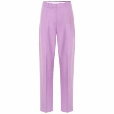 ヴィクトリア ベッカム Victoria Victoria Beckham レディース ボトムス・パンツ high-rise wool-blend pants Lilac