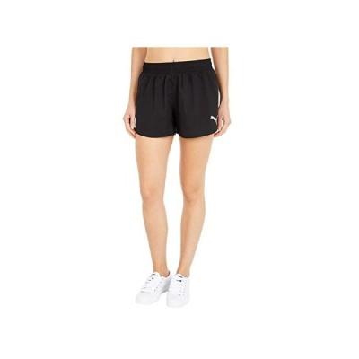 プーマ Sprint Woven Shorts レディース ショートパンツ ズボン 半ズボン Puma Black/Puma Black/Puma White