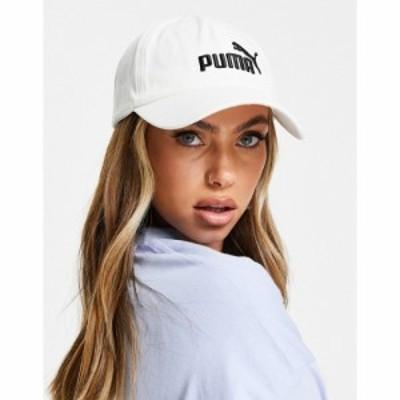 プーマ Puma レディース キャップ 帽子 Essentials Cap In White ホワイト