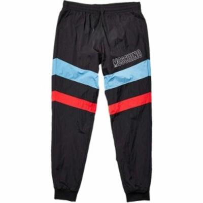 モスキーノ Moschino メンズ スウェット・ジャージ ボトムス・パンツ Stripe Detail Track Pants Black