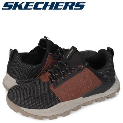 スケッチャーズ SKECHERS リグレン スニーカー メンズ RIGLEN ブラック 黒 204292