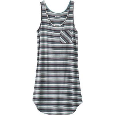 カブー KAVU レディース ワンピース ワンピース・ドレス Leonora Dress Carbon Stripe