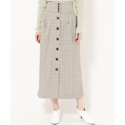 スカート フロントボタンスカート